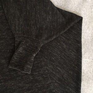 Love In Dresses - Dolman Shift Dress in Charcoal Gray